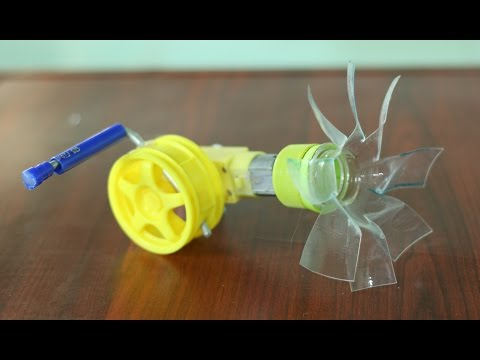 How to make a Hand Crank Fan