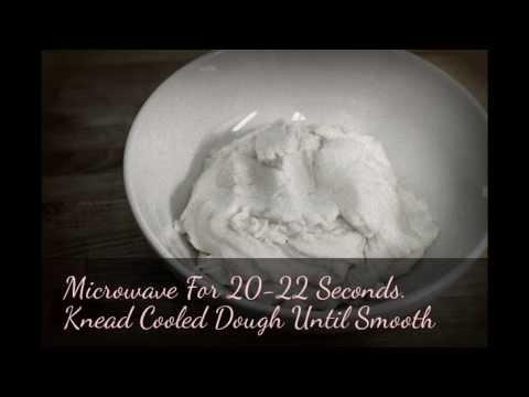 Miniature Food Made With Cornstarch Dough (Non Edible)