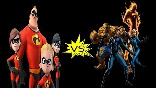 Download The Incredibles Vs. The Fantastic Four: Who Would Win? Video