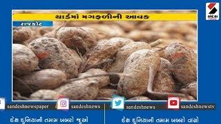 Rajkot બેડી Yardમાં મગફળીની મબલક આવક ॥ Sandesh News TV