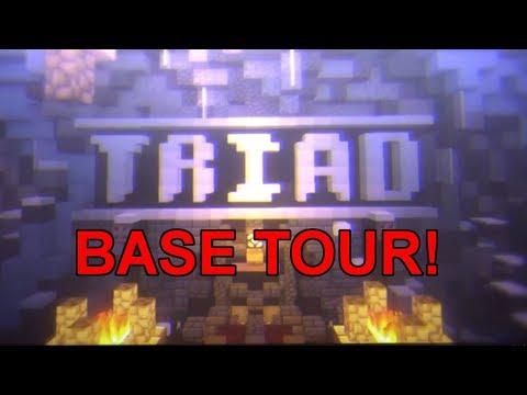 TRIAD 1 WEEK BASE TOUR! ~ OKIMC #4 (Minecraft Factions)