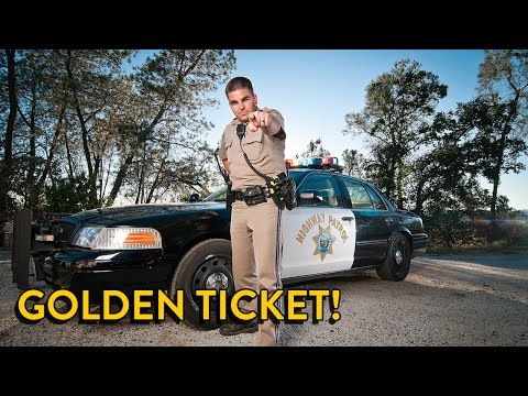 California CHP Caught Me! I Got a Ticket (Vlog)