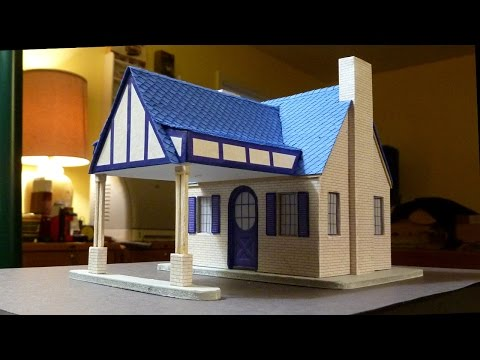 Build A Cottage Style Gas Station 3/4