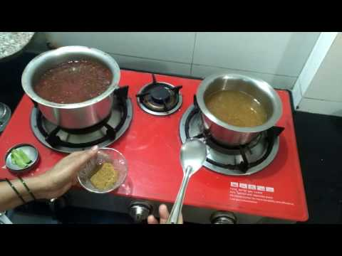 कटाची आमटी + गुळ पाणी | Katachi amti + Gul Pani | Sneha Parab