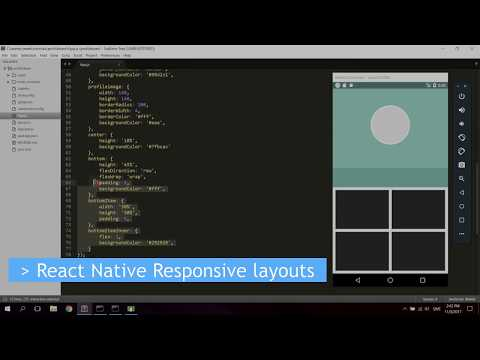 React Native Tutorial - Creating Responsive Layouts for All Devices