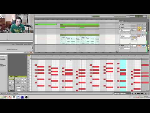 Making Melodic Dubstep in Ableton Part II: Building A Chord Progression, Harmonies LIVE SET INCLUDED