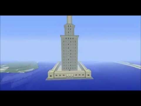 Minecraft - Lighthouse of Alexandria HD