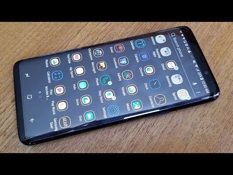 How To Make App Icons Smaller / Larger On Galaxy S9 / S9 Plus - Fliptroniks.com