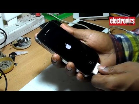 How to change charging port in iPhone 4s? (Hindi)