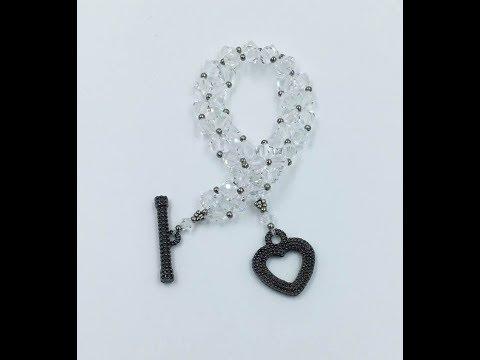 Crystal Weave Bracelet Tutorial