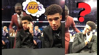 Magic Johnson CALLS Lonzo Ball Before Being Drafted To The Los Angeles Lakers | LIVE REACTION