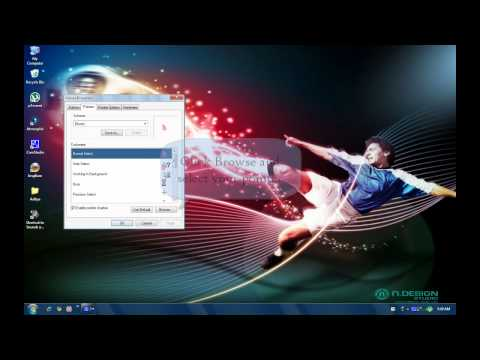 How to change Mouse pointer in windows XP