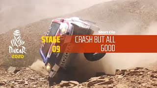 Dakar 2020 - Stage 9 - Crash but all good !