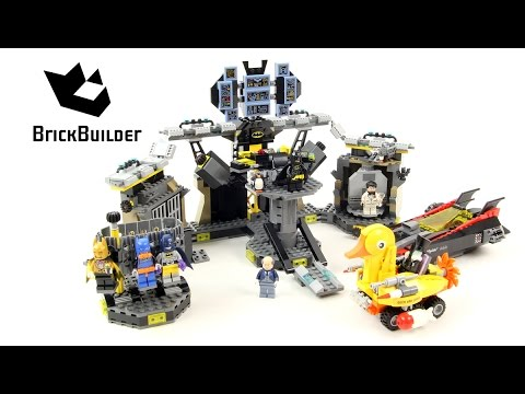 Lego Batman Movie 70909 Batcave Break-In - Lego Speed Build