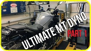 Yamaha MT 10 Woolich Racing Tune ECU flash and Dyno Tune