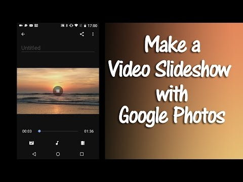 How to Make a Google Photos Movie Slideshow