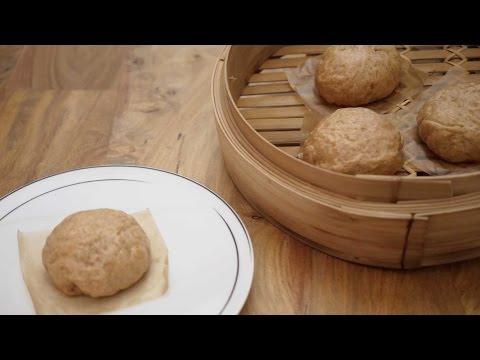 Cinnamon Sugar Steamed Buns with Pumpkin Filling