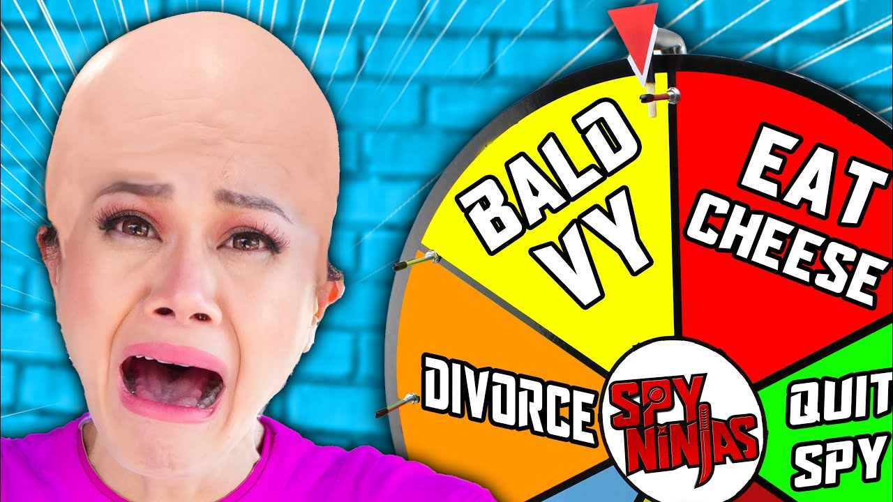 VY QWAINT IS BALD After Losing Wheel of Dare