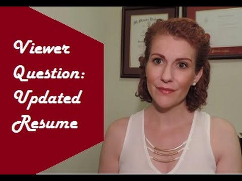 When & How to Let a Potential Employer Know about Changes to your Resume