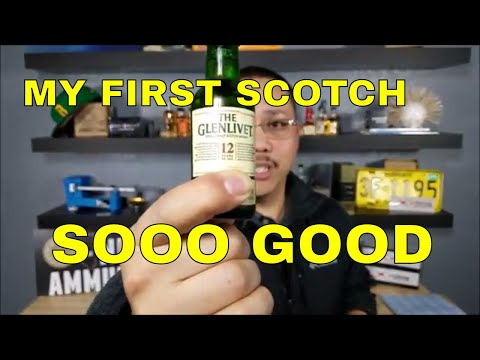 VIDEO 7 BEGINNERS GUIDE TO DRINKING WHISKEY MY FIRST SCOTCH GLENLEVIT 12 YEAR