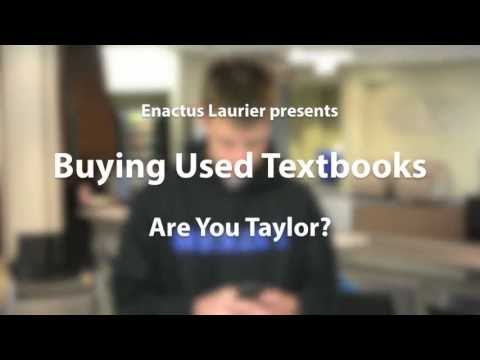 Buying Used Textbooks