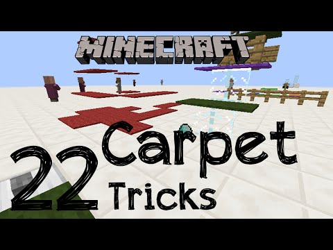 Minecraft - 22 Carpet Tricks