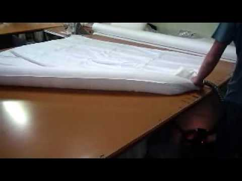 Supreme Quilts making a goose down quilt pt3