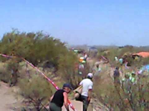 Dakar tercermundista Mendoza Nueva California 2010