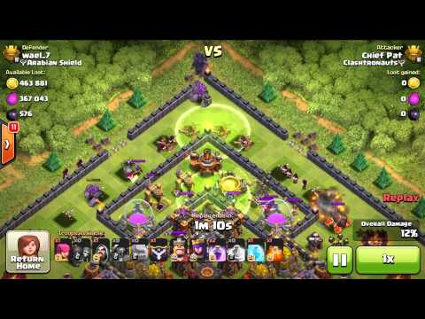Clash of Clans - Best TH10 Base Design? (Raid Breakdown)