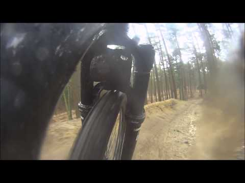 Sending it at Swinley Forest - Sony HDR-AS30V Action Camera Mountain Biking