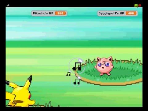 Pokemon scratch game