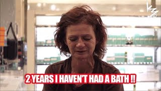 Homeless Woman Gets LiFE-CHANGiNG MAKEOVER After 2 Years!! Try Not to Cry.. .