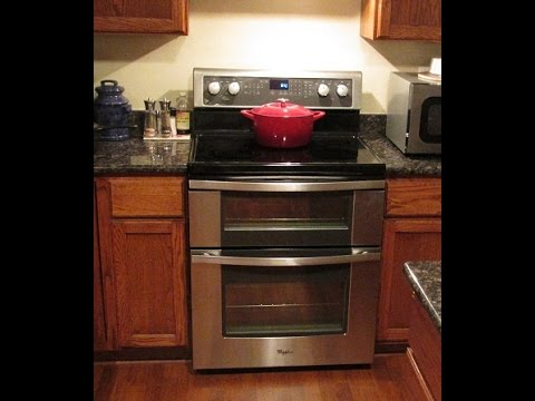 Whirlpool Model # WGE555 Double Oven Review