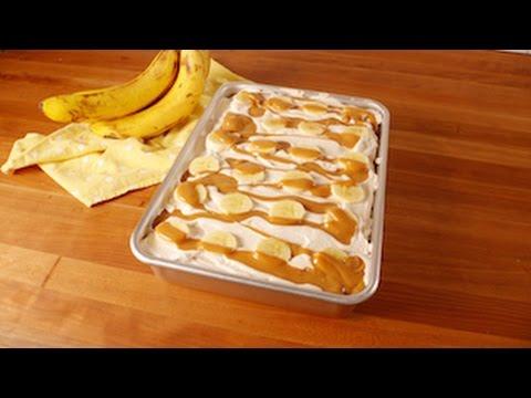 Banoffee Poke Cake | Delish