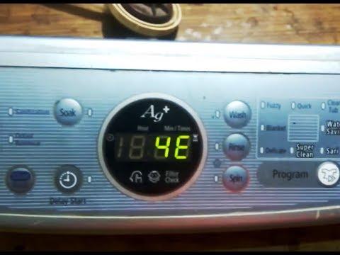 Error Codes Of Samsung Top Load Washing Machine (HINDI)