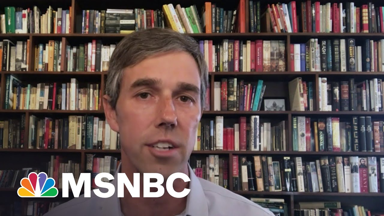 Beto O'Rourke Warns 'Democracy Is Still Under Attack' | MSNBC
