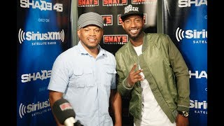 """The Hilarious James Davis Speaks on Creating """"Hood Adjacent"""" & Freestyles on Sway in the Morning"""
