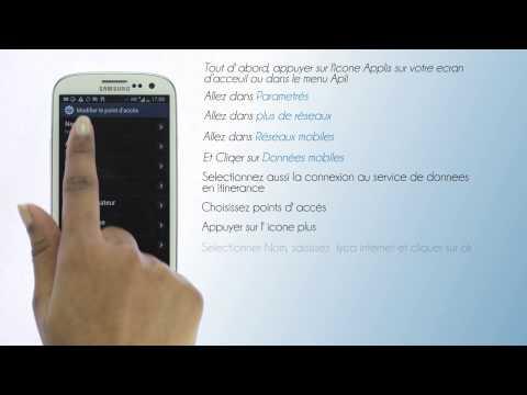 Lycamobile Belgique - Configuration de l'internet pour Samsung