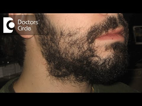 What causes patches on beard in 23 year old & its management? - Dr. Aruna Prasad
