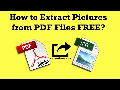 How to Extract Images from PDF Files using MS Word?