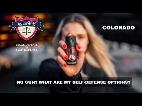 No gun? What are my self-defense options? COLORADO