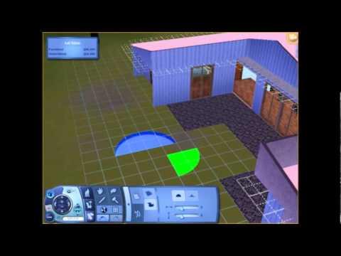 Sims 3 How to make a circle pool