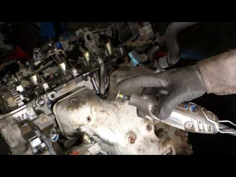 How to remove bad rusty bolt away exhaust manifold Nissan car