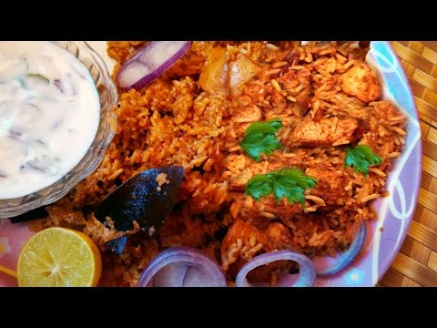 Chicken Biryani Hyderabadi | Pressure Cooker | Hyderabadi Spicy Recipe