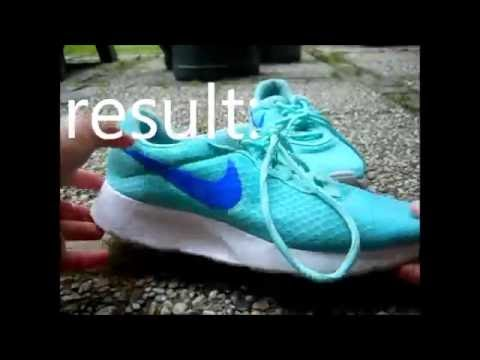 HOW TO CLEAN NIKE SHOES//sole AND fabric |MadeWithHeart