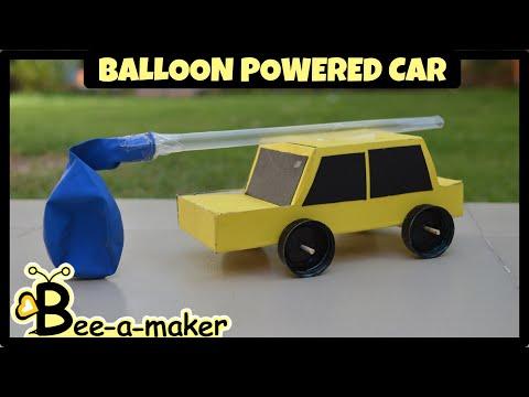 How to make a Balloon car