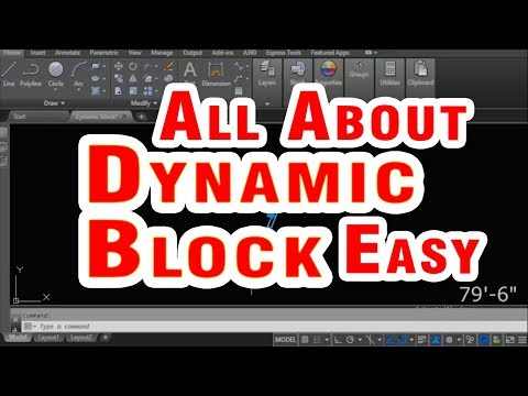 AutoCAD Dynamic Block for Door With Rotation, Scale, Mirror, Stretch Free Online Tutorial Classes