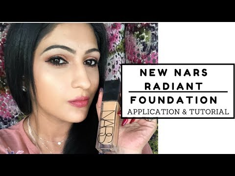 NEW NARS NATURAL RADIANT LONGWEAR FOUNDATION!!!   Sonal Maherali