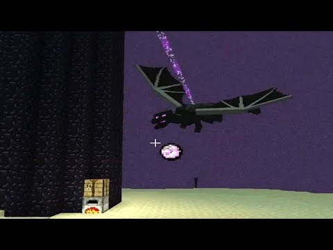 Minecraft PS4 Survival: Platinum Trophy Episode 13 - Fighting The Ender Dragon with Only Hand
