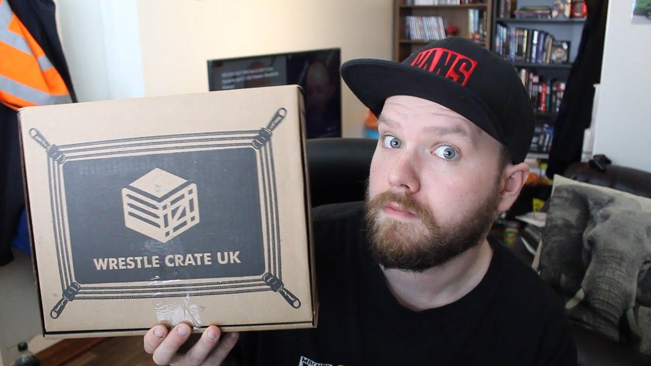 Wrestle Crate UK Unboxing! (April 2021)